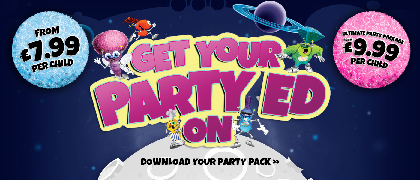 Get your party 'Ed on