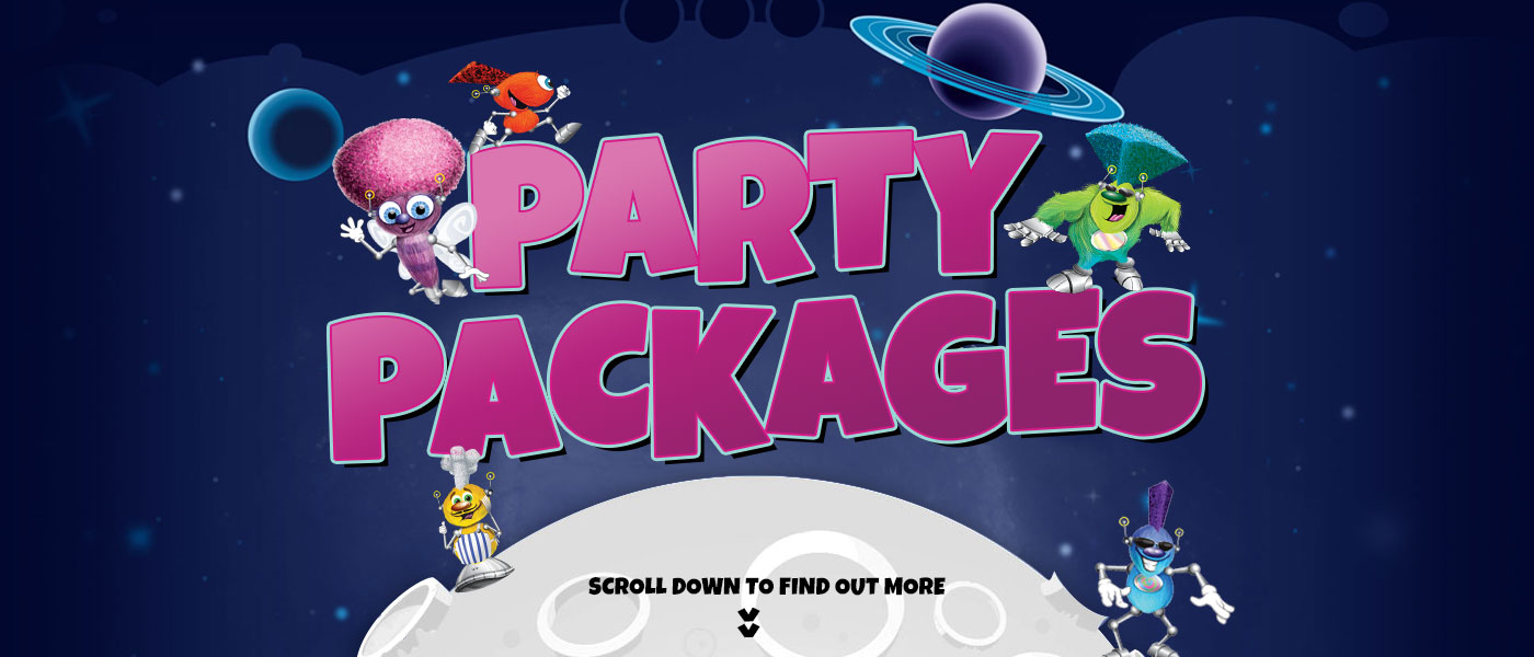 Party Packages at Fuzzy Ed's