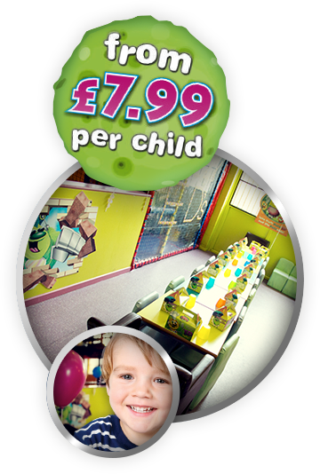 From £7.99 per child